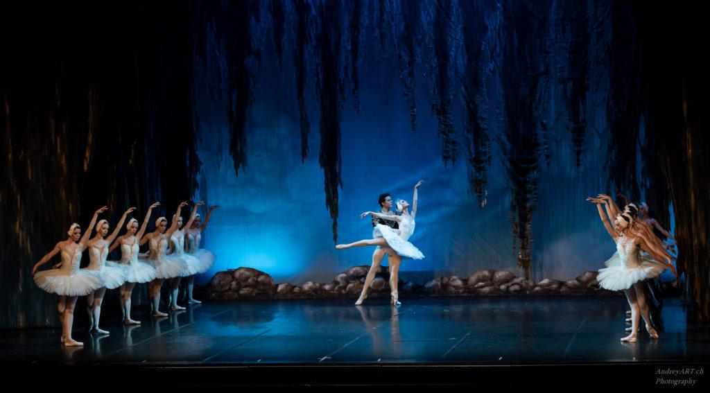 LE LAC DES CYGNES, Ballet de Kiev 2019, photo Andrey Art, photographe à Genève