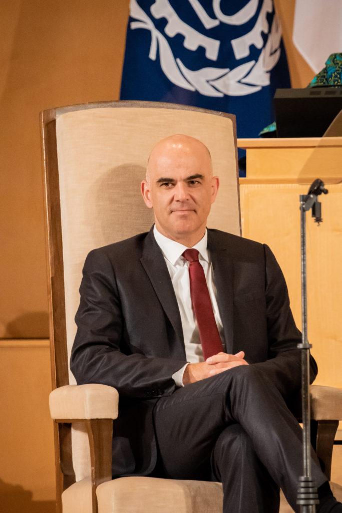 Conseiller fédéral Alain Berset